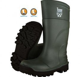 Bottes Techno Boots Thermo Ultragrip vert/noir S5 - Taille 43